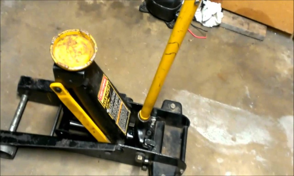 How to Fix Floor Jack That Leaks Down
